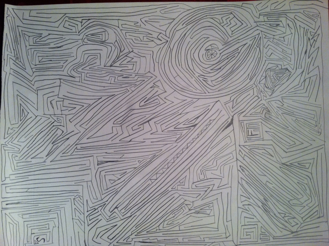 Mazes Art Math Or A Calming Centering Mandala
