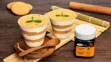 夏天必吃消暑甜品 用新西蘭人氣蜂蜜輕鬆做木糠布甸