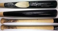 Mike Zunino Signed 2013 Game Used Bat – Cracked Black Old Hickory MZ20
