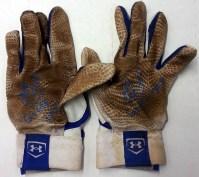 Jorge Alfaro Game Used Batting Gloves