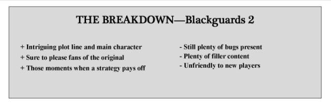 Breakdown Blackguards