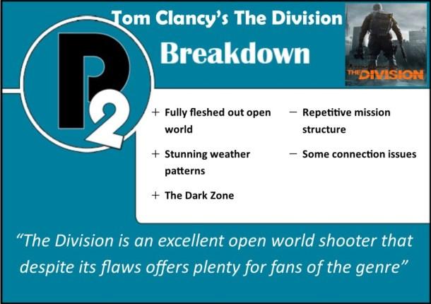 division breakdown