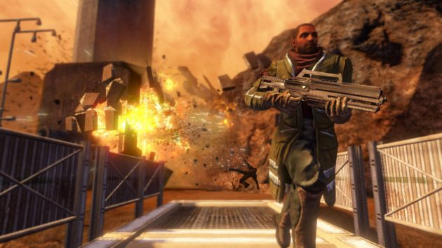 Adventures of a Space Asshole - Red Faction: Guerrilla - ReMARSted