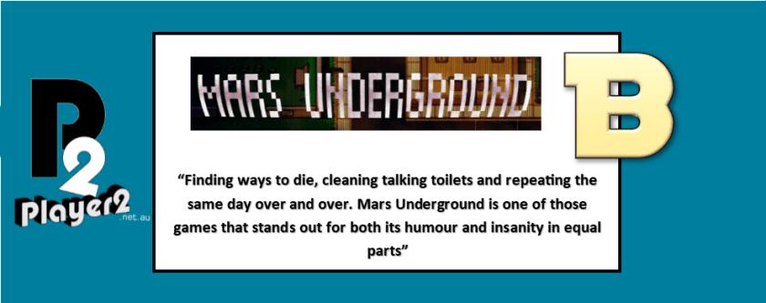 Mars Underground - Groundhog Day in Pixels
