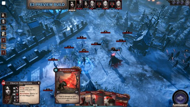 Immortal Realms: Vampire Wars Taking a Bite Out of E3