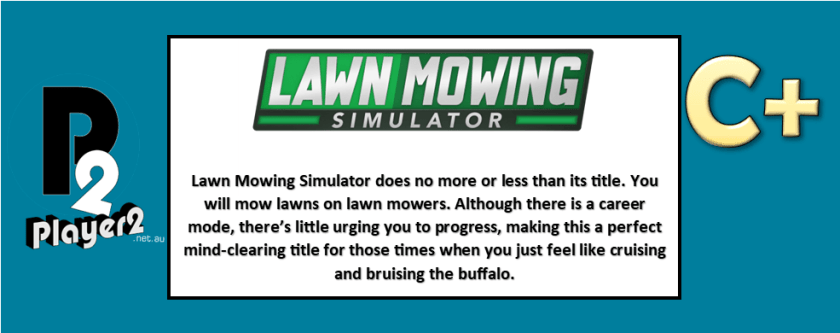 Lawn Mowing Simulator - Don't Cut Your Neighbour's Grass