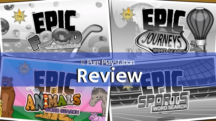 Review: Epic Word Search - PS4 / PS Vita