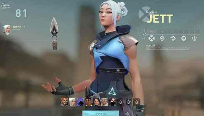 Valorant Jett Character, Abilities, Ultimate and More