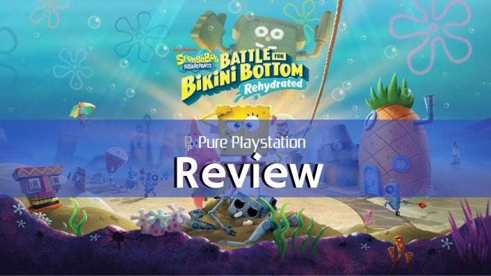 Review: SpongeBob SquarePants: Battle for Bikini Bottom - Rehydrated - PS4