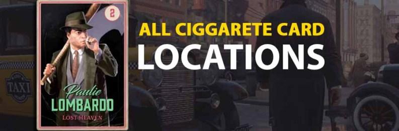 All Cigarette Card Locations | Mafia Definitive Edition