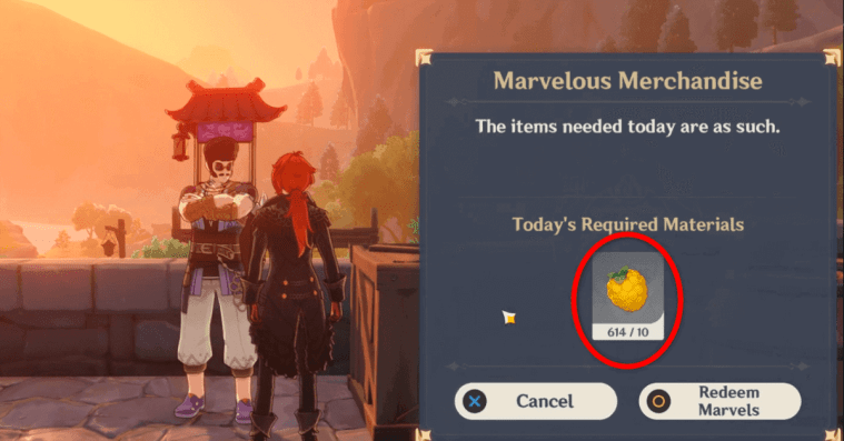 Genshin Impact – Where to Find Berries for Marvelous Merchandise Event