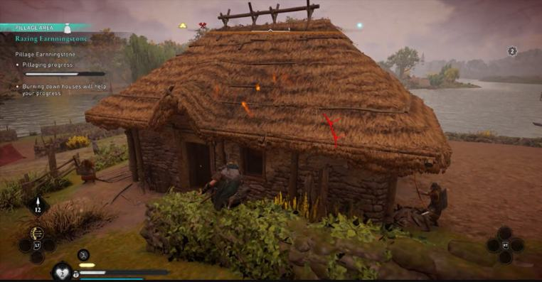 Assassin's Creed Valhalla: How to Burn Down a House