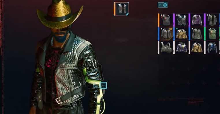 Cyberpunk 2077: How to Get Gold Cowboy Hat
