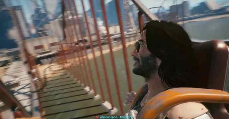 Cyberpunk 2077: How to Ride a Roller Coaster