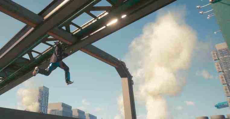 Cyberpunk 2077: How to Super Jump