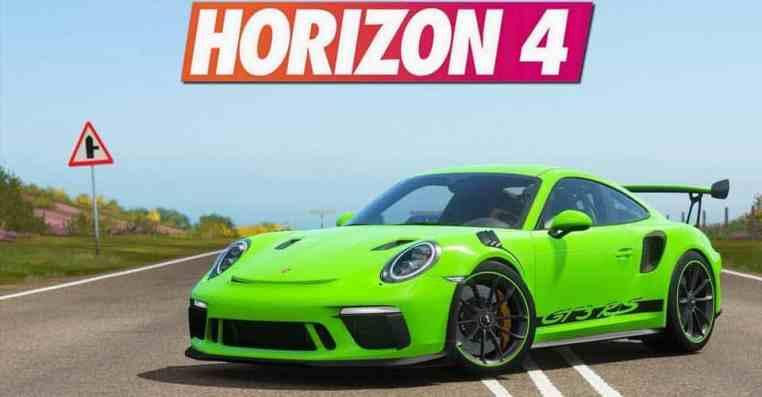 Forza Horizon 4 Porsche | How To Get Porsche 911 GT3 RS