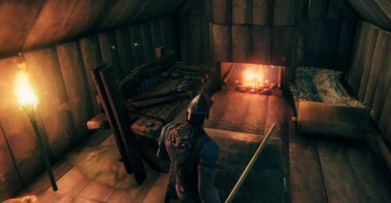 Valheim Campfire: How to Make Indoor Campfire