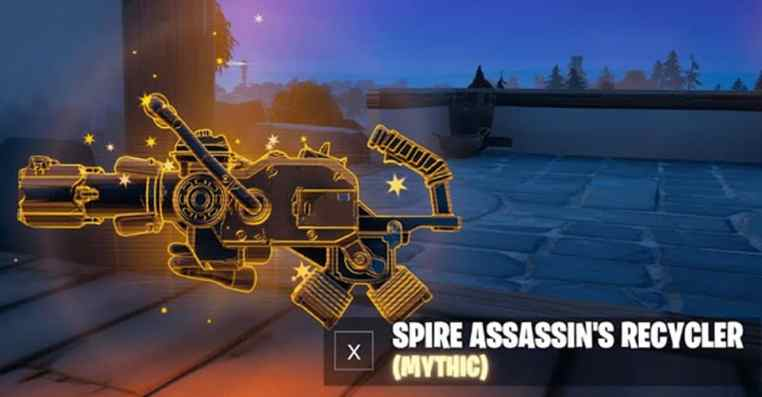 How to get the Mythic Spire Assassin's Recycler Fortnite