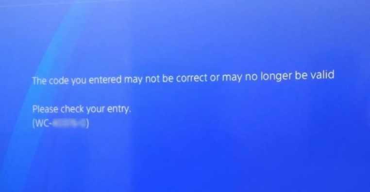 How to Fix PS4 Error Code WC-34736-3