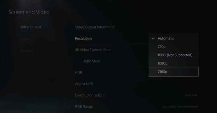How To Change Resolution On PS5 & Improve Graphics