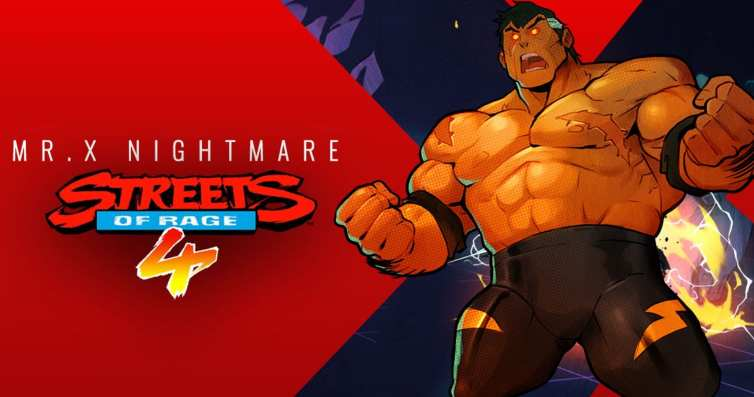 Review: Streets of Rage 4 Mr. X Nightmare DLC - PS5, PS4