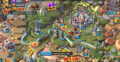 Lords Mobile How to Increase Army Size