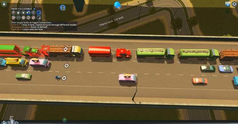 Cities: Skyline   How To Fix Vehicle Lane Switching
