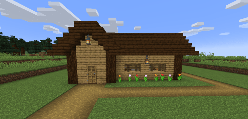How To Build a Starter Base in Minecraft