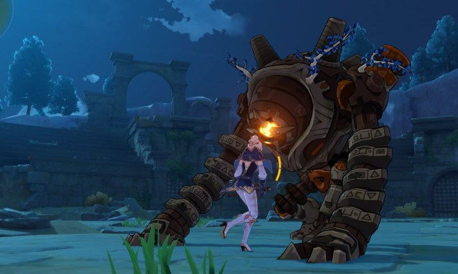 How to Defeat the Ruin Guard in Genshin Impact