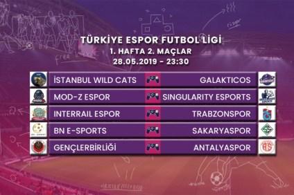 türkiye espor futbol ligi, tefl, fifa, trabzonspor fifa, sakaryaspor fifa, antalyaspor fifa