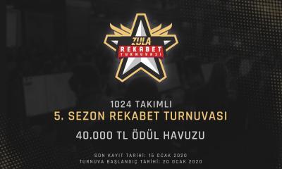 Zula Rekabet Turnuvası 5. Sezon Kayıtları Açıldı