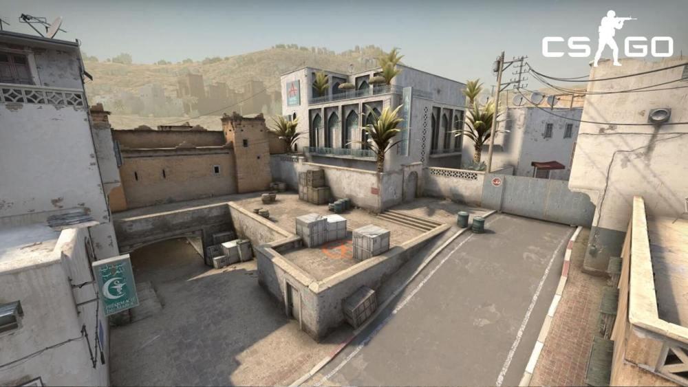 Fortnite İçerisinde CS:GO Dust 2 Haritasının Aynısını Yaptılar