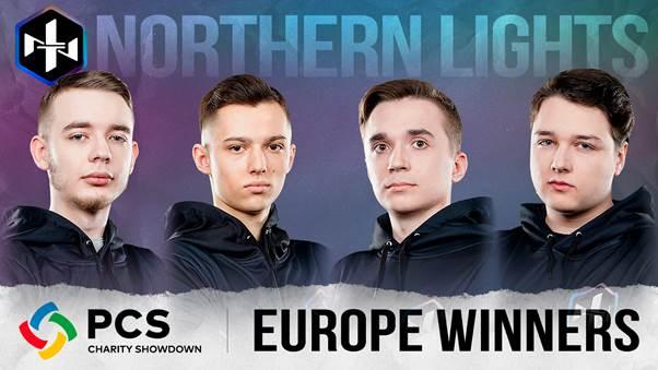 PCS Europe Charity Showdown, Avrupa Büyük Finallerini Northern Lights kazandı