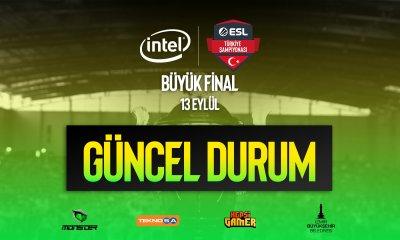 Intel ESL Türkiye Şampiyonası'na Korona virüsü engeli!
