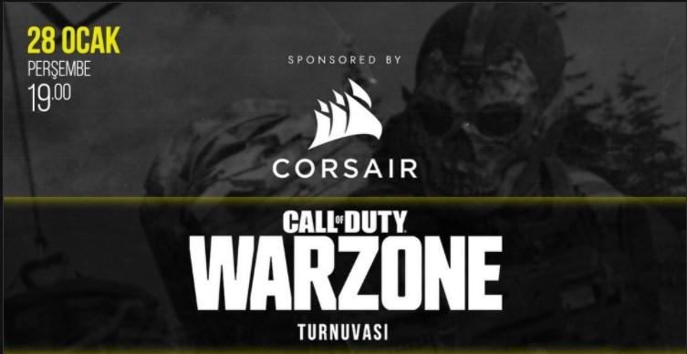 Corsair sponsorlu GamifyTR ödüllü turnuvası kayıtları