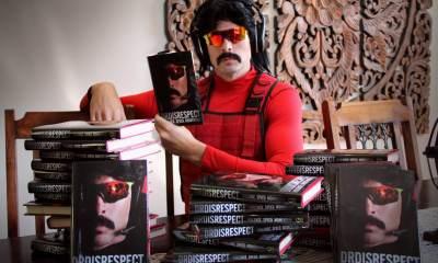 Dr.Disrespect tarafından yazılan kitap satışa sunuldu