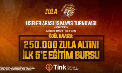 Tink Liseler arası Zula turnuvası