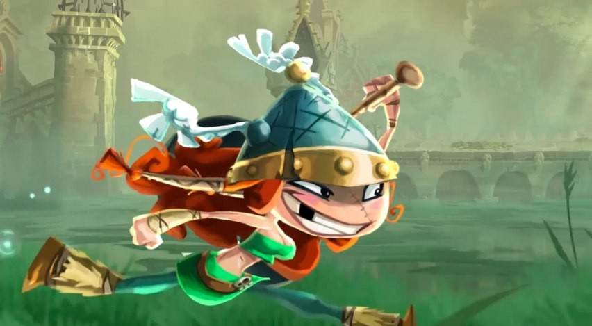 Rayman Legends Adds A New Character Player One Start