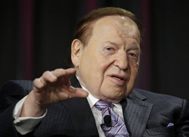 Sheldon Adelson las vegas