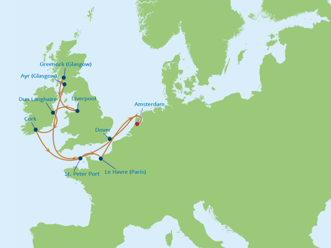 12 Night British Open Cruise Event in Glasgow