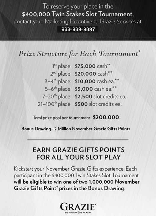 Slot tournaments las vegas