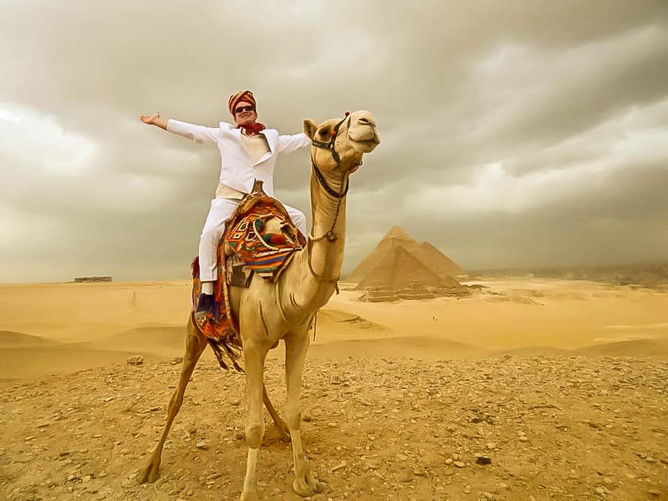 Richard in Egypt