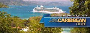 royal Caribbean junket western caribbean