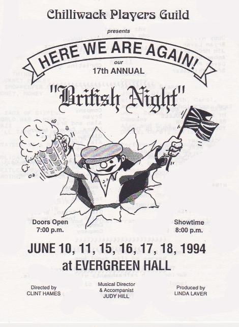 Here We Are Again -- British Night 1994