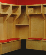 Sports locker room accessories