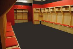 Sports locker room accessories