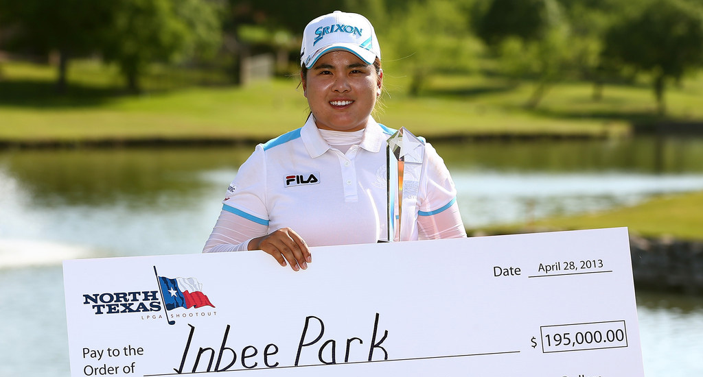 players towel  u00bb inbee park wins 2013 north texas lpga shootout
