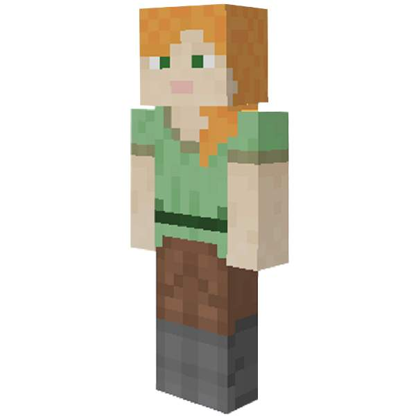 Minecraft Adds Female Default Skin For Console Players