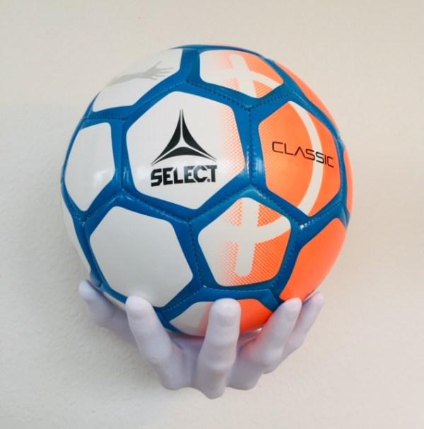 ballonwall plast hånd til alle slags sportsbolde