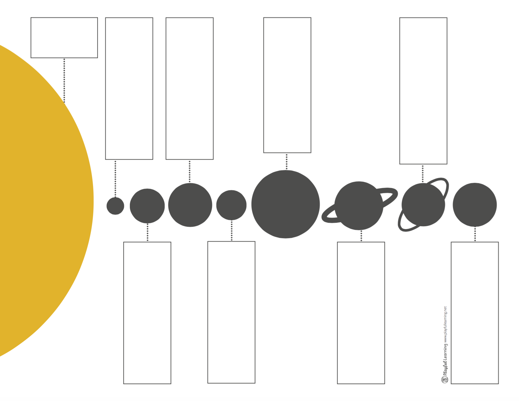 Universal Lessons The Solar System